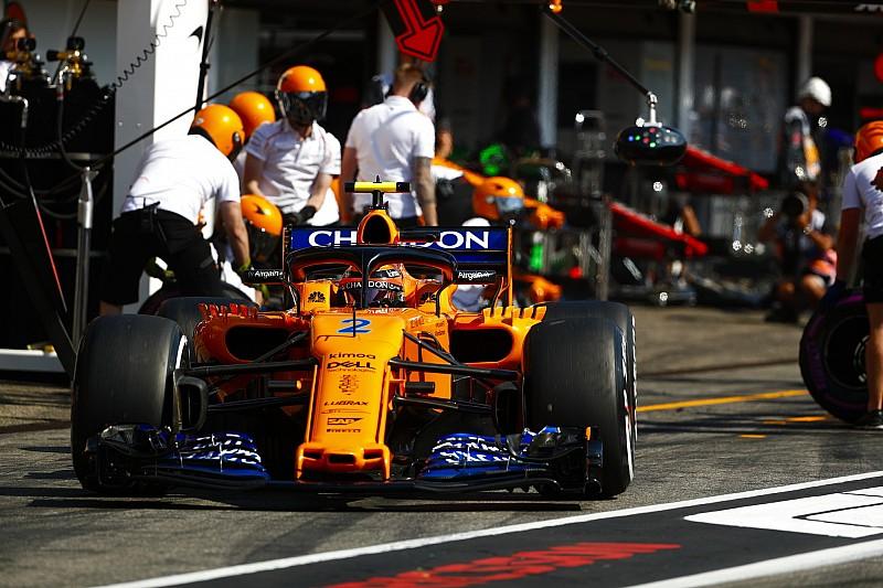 McLaren a changé le châssis de Vandoorne