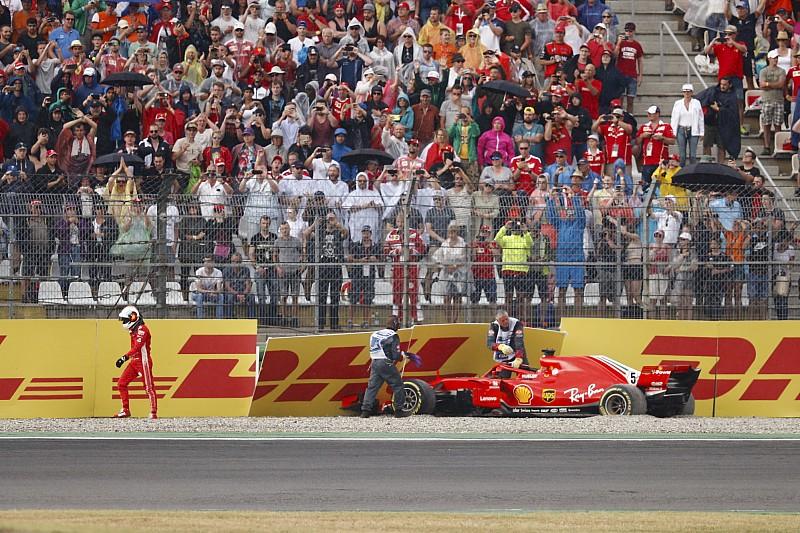 """Após bater, Vettel diz que não terá """"dificuldade para dormir"""""""