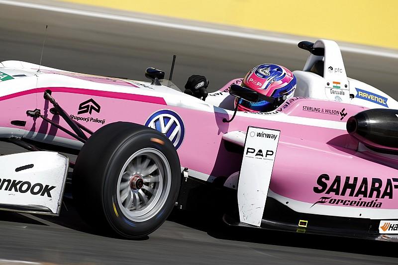 Jehan Daruvala si prende la prima pole del weekend a Spa-Francorchamps