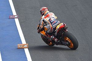 Marquez jelaskan hampir terjatuh dua kali