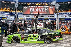 NASCAR XFINITY Crónica de Carrera Ryan Blaney domina la  Xfinity Series en Texas