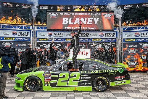 Ryan Blaney dominates NASCAR Xfinity Series race at Texas