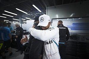 """Hamilton's Baku win """"doesn't feel right"""" - Mercedes"""