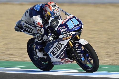 Moto3 Jerez FP2: Martin Schnellster, Di Giannantonio stürzt