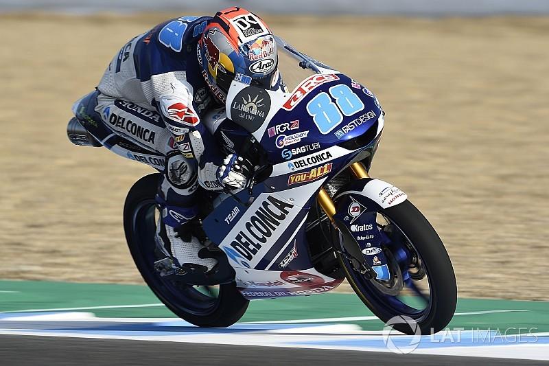 Moto3 Spanyol: Martin pole, Canet start ke-15