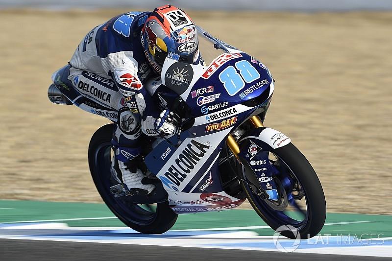Moto3 Le Mans: Martin opent met snelste tijd