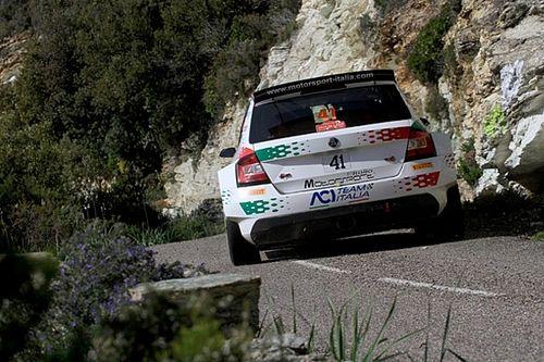 Test sugli sterrati di Teramo per Andolfi: prepara il Rally di Portogallo