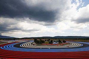 Pilotos andam pouco em TL3 chuvoso na França; Bottas lidera