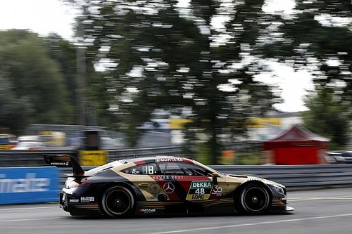 Norisring DTM: Mortara claims pole by 0.001s