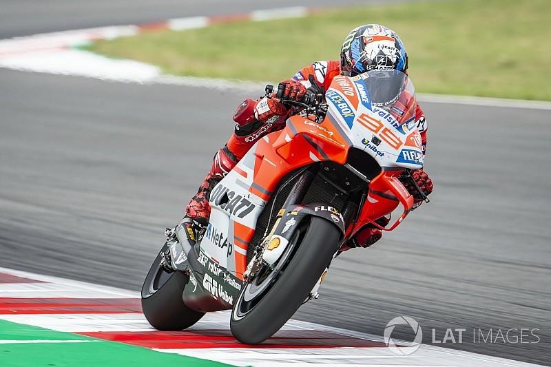 Lorenzo poursuit sur sa lancée du Mugello avec le meilleur temps