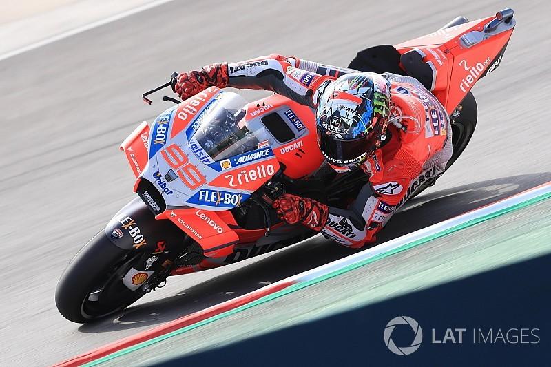 Course - Lorenzo récidive, Márquez et Rossi se satisfont du podium