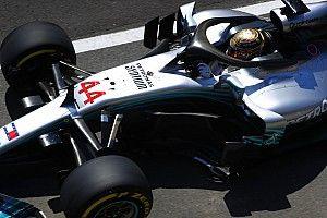 英国大奖赛FP3:汉密尔顿重登榜首,哈特利遭遇惊魂事故