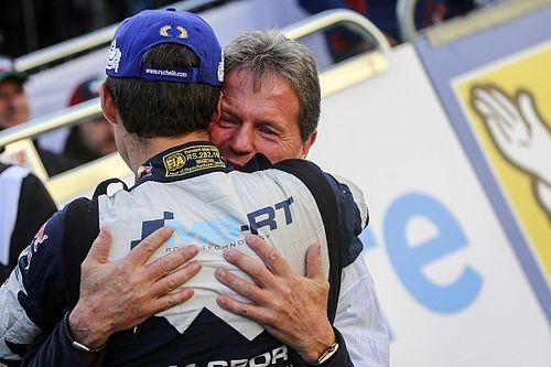 Galería: la mayor emoción de Ogier con su quinto título del WRC