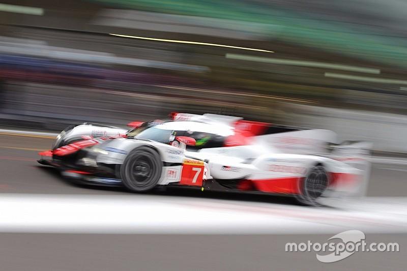Toyota tercepat di FP1 WEC Shanghai 6 Jam
