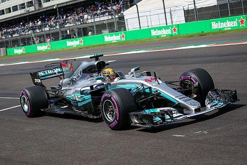 """Ferrari nähergekommen"": Mercedes trotz Niederlage in Mexiko happy"