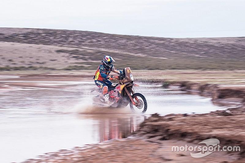 La météo perturbe de nouveau l'itinéraire des motos et des quads