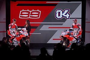 MotoGP Noticias de última hora Ducati presenta sus nuevas Desmosedici