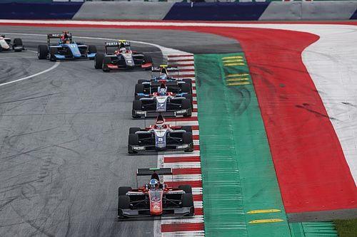 Авария трех лидеров помогла Хьюзу одержать первую победу в сезоне GP3