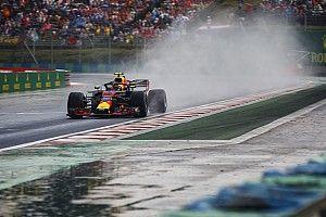 """Verstappen : Red Bull n'a """"aucune adhérence"""" sous la pluie"""