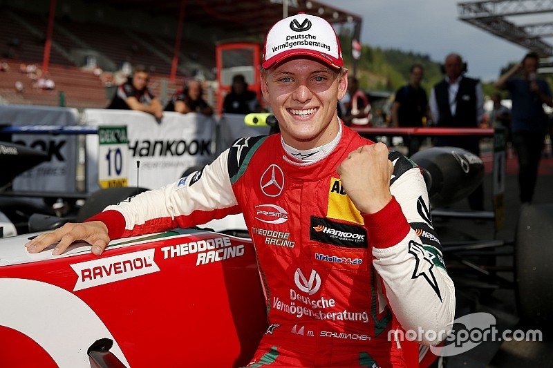 "Mick Schumacher ""living the dream"" by taking F3 title"