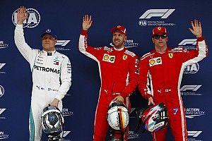 Çin GP'si öncesi: Yarış gridi
