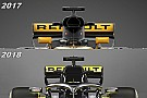 Formula 1 Slide view: See why Renault's '2018 car' was mainly superficial