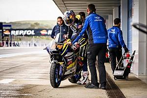 Moto2 Testverslag Bagnaia rapste tijdens Moto2-test Jerez, Bendsneyder op drempel top-15