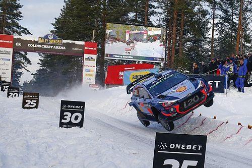 Fotogallery WRC: i salti più spettacolari al Colin's Crest