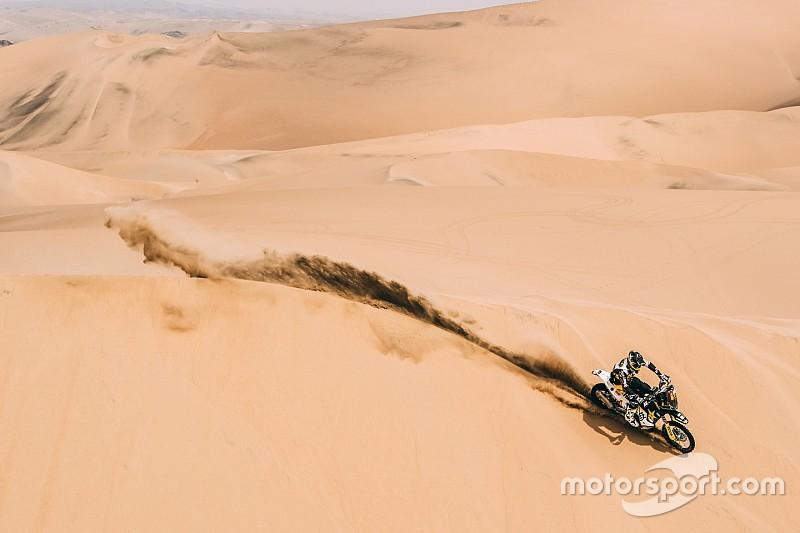 Quintanilla asciende al segundo de la general del Dakar