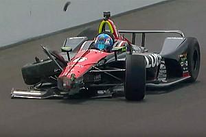 IndyCar Prove libere Indy 500, Day 7: Karam il più veloce. Incidente per Wickens!
