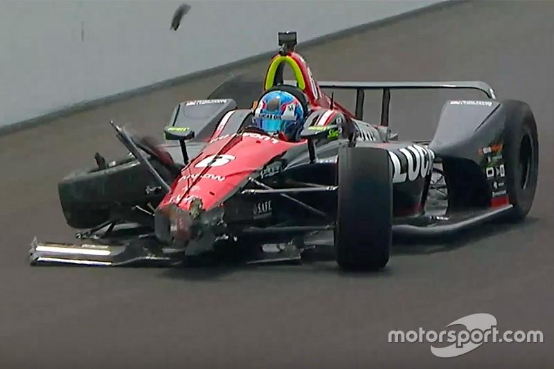 Indy 500, Day 7: Karam il più veloce. Incidente per Wickens!