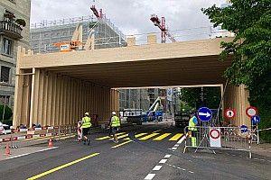 Fotostrecke: Bauarbeiten an der Strecke in Zürich
