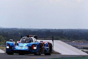 Képeken Button tesztelése Le Mans-ból