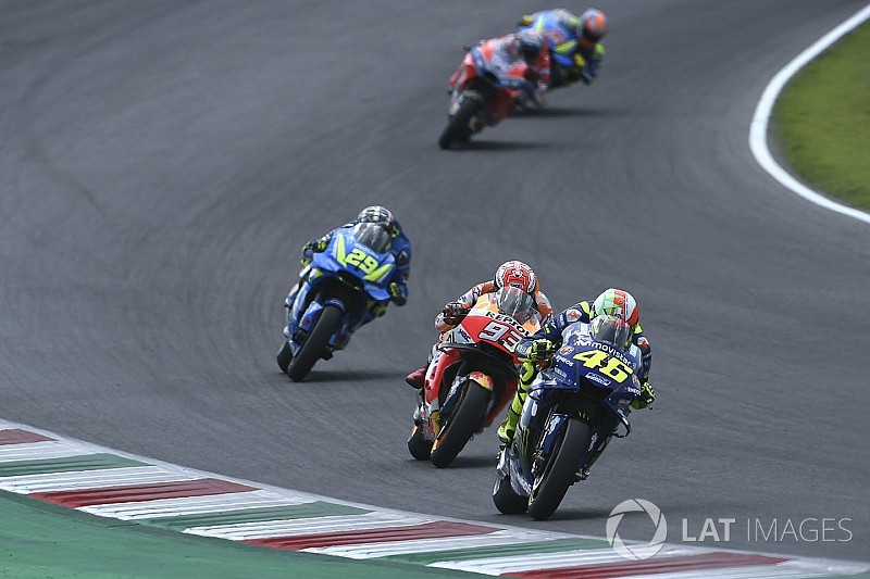 "Rossi still ""not fast enough"" to fight for title"