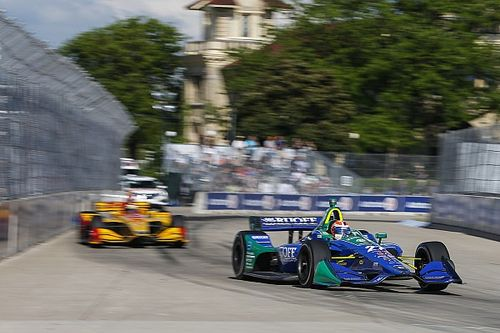 "Rossi admits Detroit error but ""conceding a win isn't going to happen"""