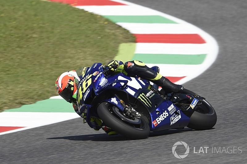 """Rossi : """"La plus grande amélioration, ce sont les pneus depuis 2016"""""""