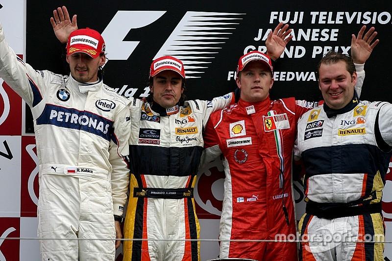 Relembre os 10 últimos vencedores do GP do Japão