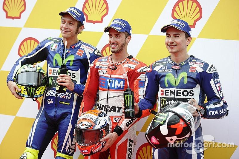 MotoGP Malaysia: Dovizioso pole position, Rossi kalahkan Lorenzo