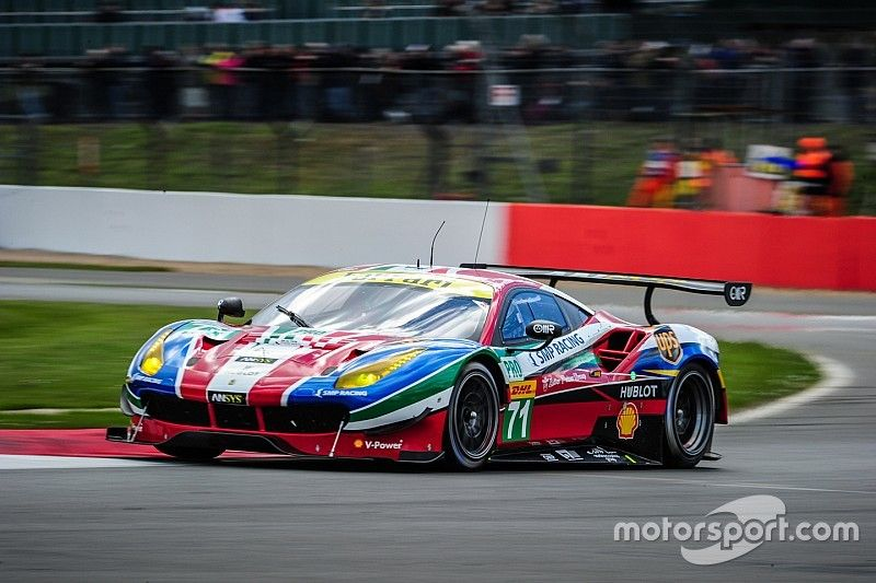Ferrari 1-2 at Silverstone with the new 488 GTE
