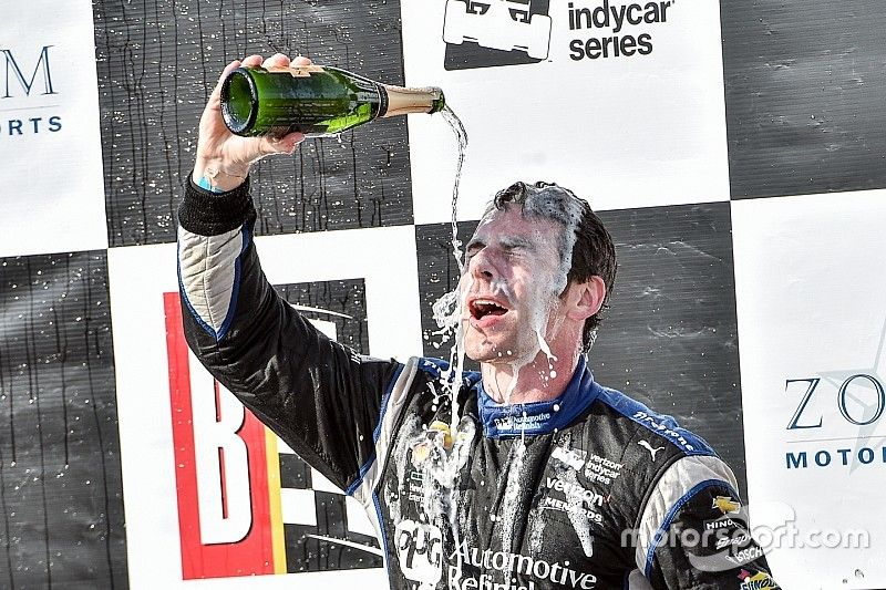 Pagenaud: Beating Rahal was about being aggressive