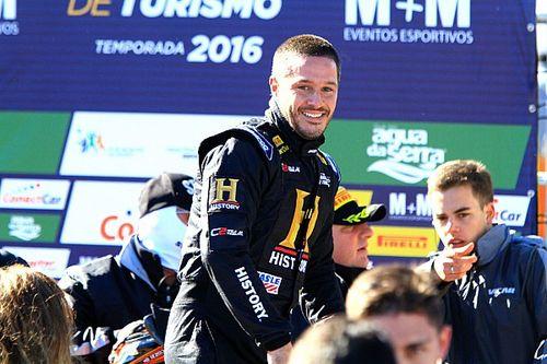 Feliz com 3º, Cozzi já pensa em vitória em Interlagos