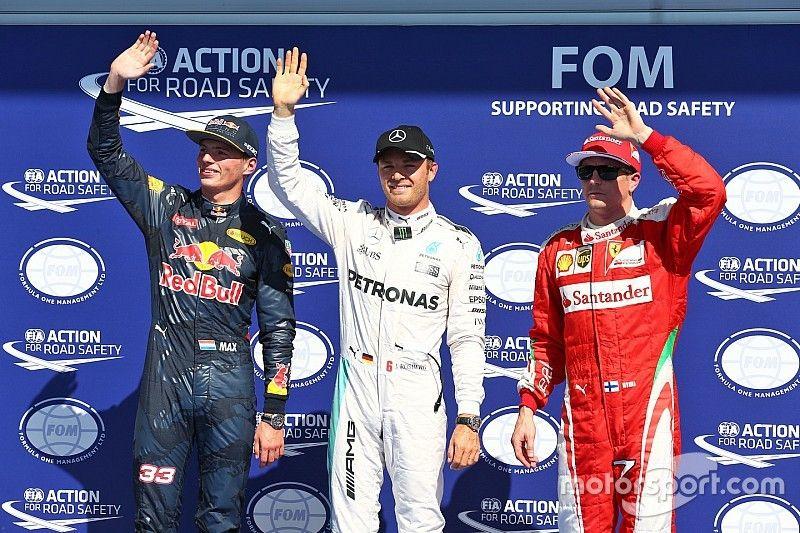 Belgian GP: Rosberg sees off Verstappen challenge for Spa pole
