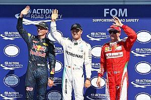 比利时大奖赛排位赛:罗斯伯格轻松取胜,携手维斯塔潘头排起跑