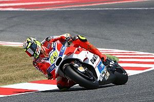 Third row start in Catalan GP for Iannone, eighth in qualifying at Montmelò