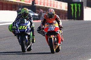 """Valentino Rossi: Pedrosa se merecía """"mínimo un"""" título de MotoGP"""