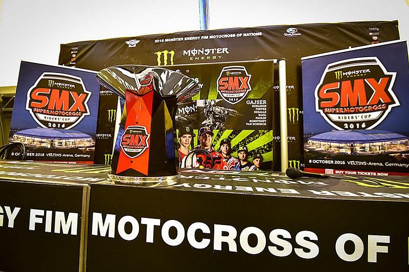 Trofi Supermotocross resmi diluncurkan di Maggiora