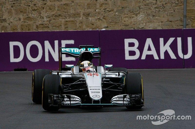 Avrupa GP: 2. antrenman seansında Hamilton lider, Rosberg yolda kaldı