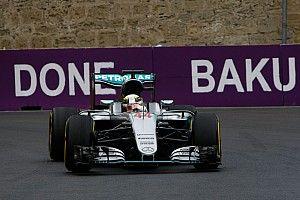 European GP: Hamilton stays on top in FP2 as Rosberg hits trouble