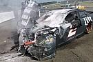 Brad Keselowski mit heftigem Crash bei NASCAR-Test in Watkins Glen