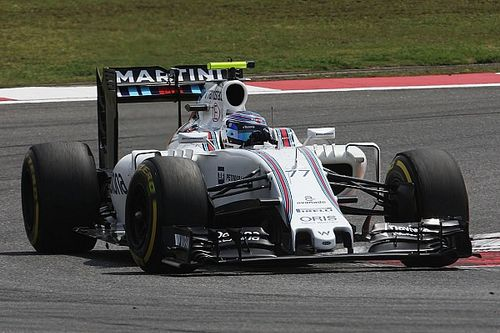 Bottas will start second on the grid with Massa in fourth for the Russian GP